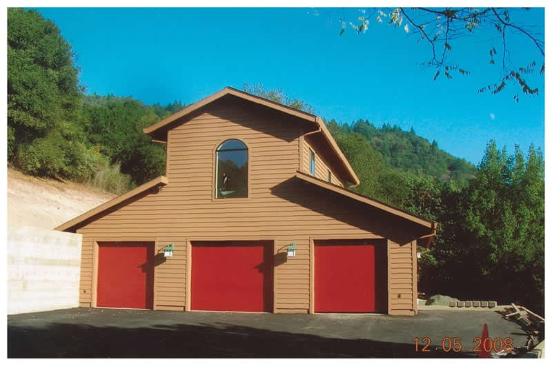 Storage barn with living space Santa Rosa CA