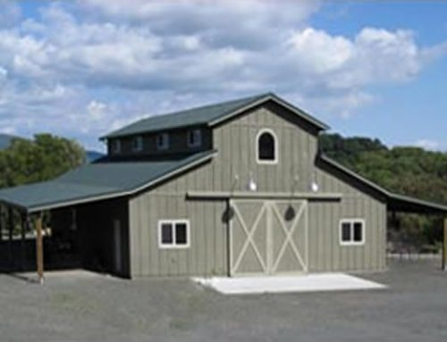 Storage Barn with Upstairs Living Space, Santa Rosa CA