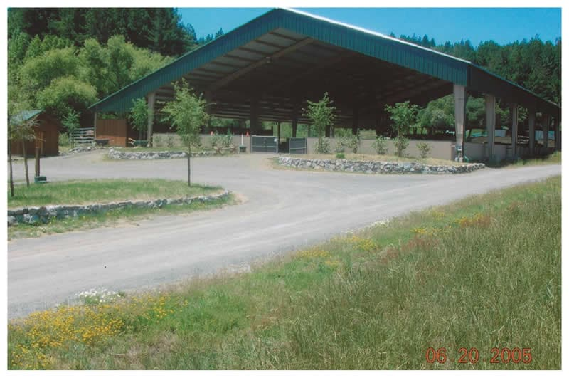 Covered Riding Arena Occidental CA