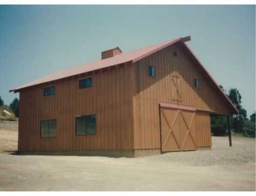 Storage Barn with Office, Petaluma CA