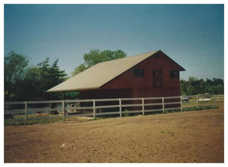 Storage Barn with Living Space, Santa Rosa CA
