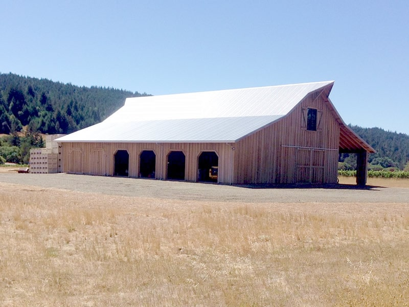 Vineyard Barn Boonville CA